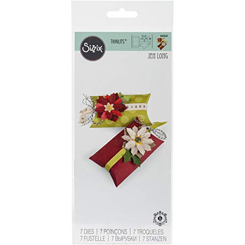 Sizzix Bigz Pro Fustella, Box Pillow & Poinsettias