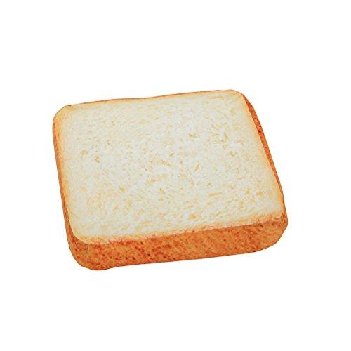 UEETEK Gatto Cuscino Letto Toast della forma di pane per Animale Domestico Cane Gatto 40x 40x 7cm