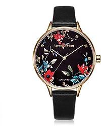 ef996df144ba Amazon.es  Piel - Relojes de pulsera   Mujer  Relojes