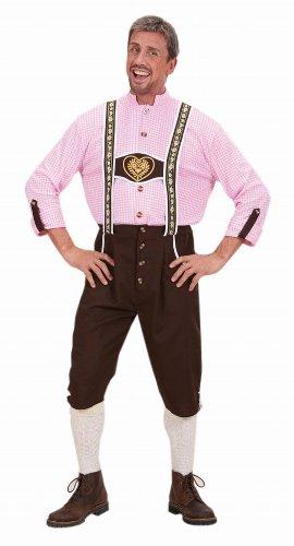 Widmann -  Costume Uomo Bavarese Oktoberfest,7421L   Taglia: XL