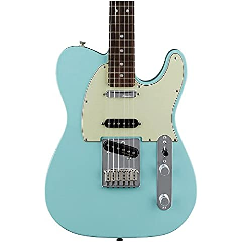 Fender Deluxe Nashville tele RW–Daphne Blue