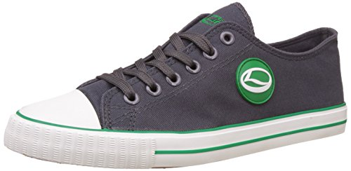 Lancer Men's Dark Grey and Green Sneakers - 6 UK/India (40 EU)(YSM-L-901)  available at amazon for Rs.699