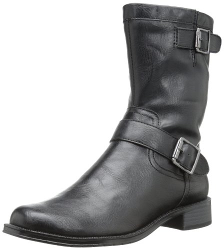 aerosoles-take-pride-womens-black-fashion-ankle-boots-size-new-display-uk-6