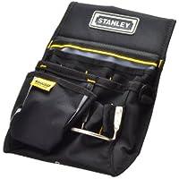 Stanley 1-96-181 - Cinturón portaherramientas con bolsa para clavos y bucle para martillo