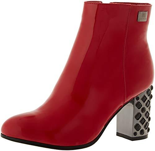 Laura Biagiotti Damen 5138_bm Kurzschaft Stiefel Rot (Red 14) 41 EU