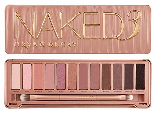 TRENDY TROTTERS URBAN DECAY Naked 3 Eyeshadow Palette 12x Eyeshadow, 1x Doubled - NEW