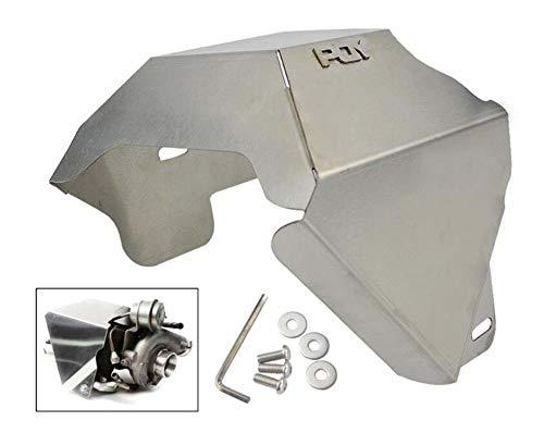 SHIMOTOO Modifizierte Turbo Heat Shield Auto Parts Turbo Charger Isoliervorstellung für Subaru WRX 02-14/STi 04-18/Legacy GT 05-15/Forester XT 10-16 (Legacy Gt 2005)