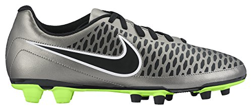 Nike Magista Ola Fg, Chaussures de Football Homme Or (Mtlc Pewter/Blk-Ghst Grn-White 010)