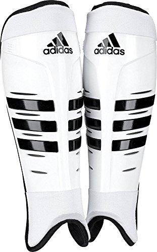 adidas Hockey Shin Pads, Weiß, L