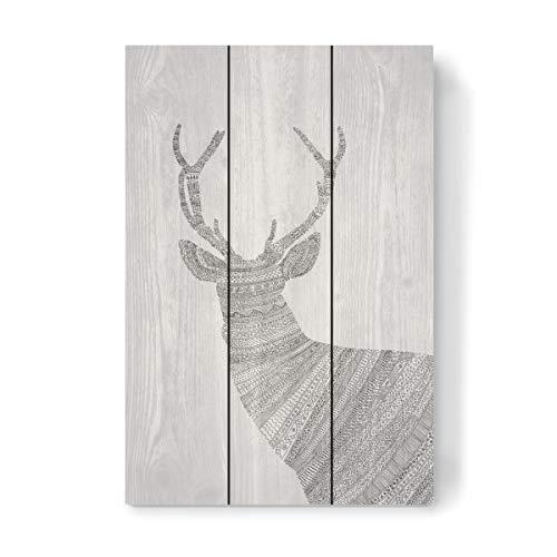 Holzbild Farbe