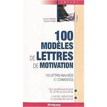 100 modèles de lettres de motivation