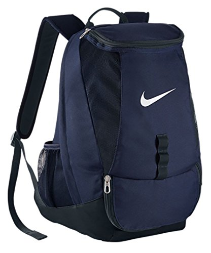 Nike Club Team Swoosh Backpack - Mochila para hombre, color azul marino/negro/blanco, talla única