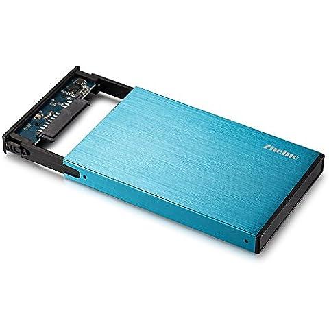 Zheino Alluminio 2,5 Pollici HDD SSD SATA3 To USB 3.0