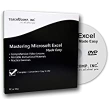 Learn Microsoft Excel 2016 Made Easy Video Training Tutorial DVD-ROM Course: Even Dummies Can Learn Excel With This Course for Everyone