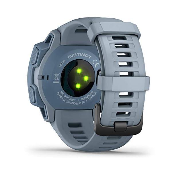 Garmin Instinct, Resistente Reloj para Exteriores con GPS, características