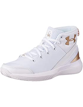 Under Armour UA BGS X Level Ninja–Zapatos Baloncesto Niño–1296005106, 1296005, 38.5