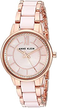 Anne Klein Women's Swarovski Crystal Accented Ceramic Bracelet W