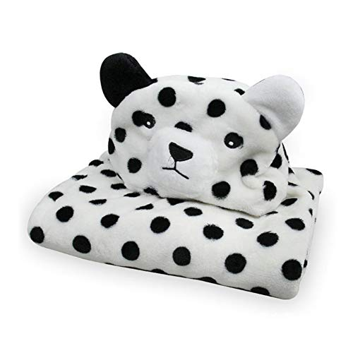 tel mit Kapuze, Tiergesicht aus Kaschmir, Handtuch für Säuglinge und Kleinkinder, Leopard, 39x39 inches ()