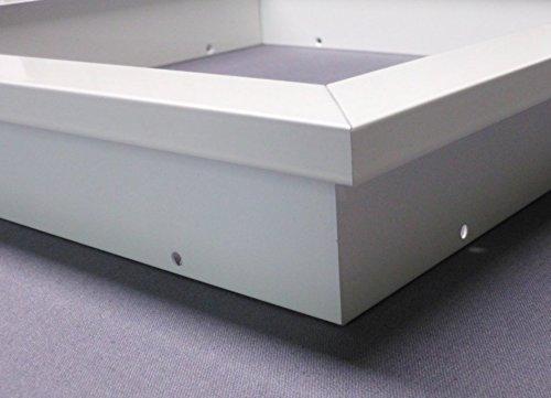 Montageset Einbaurahmen – weiß – 60×60 - 4