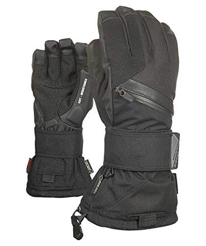Ziener Erwachsene MARE GTX Gore plus warm glove SB Snowboard-handschuhe, schwarz (black hb), 8 -