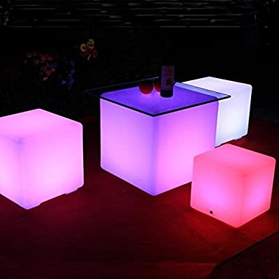 Bedside Child Table Mood Light, Mr.Go Dimmable / Speed Adjustable / Color Changing Waterproof Floating Led Mood Cube Light, Rechargeable Night Light with Remote Control for Bedroom / Indoor and Outdoor Decor (UK Plug) - inexpensive UK light store.