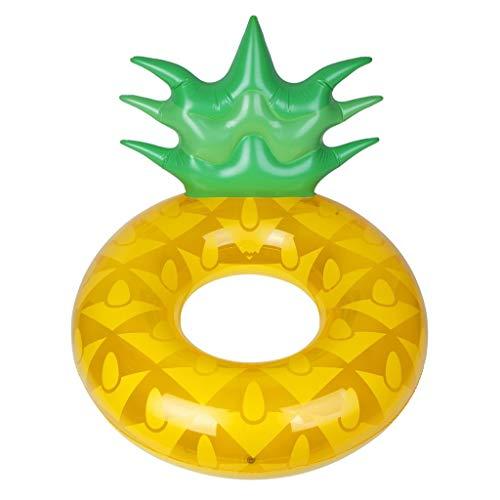 Schwimmring-Ananas-erwachsene große Ananas-Blasen-sich hin- und herbewegende Entwässerung auf aufblasbarem Bett-Seat-Feiertags-aufblasbarem Spielzeug -