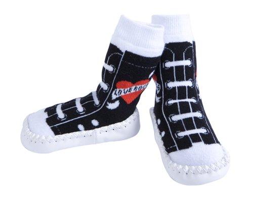 Jazzy Toes JazzyToes Slippers- Rock & Roll Love Rocks Sneakers
