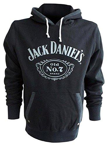 Preisvergleich Produktbild Jack Daniel's Old No. 7 Kapuzenpulli schwarz L