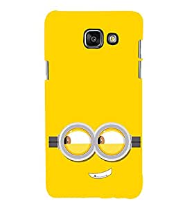 Funny Smiley Cartoon 3D Hard Polycarbonate Designer Back Case Cover for Samsung Galaxy A3 (2016) :: Samsung Galaxy A3 2016 Duos :: Samsung Galaxy A3 2016 A310F A310M A310Y :: Samsung Galaxy A3 A310 2016 Edition