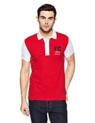 French Connection Mens Slim Fit Polo (56IGT_Racer_L)