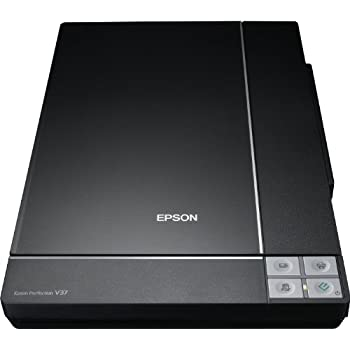 Epson Perfection V37 Flachbettscanner Epson Copy Utility Epson Document Capture Pro (4800dpi USB 2.0) schwarz