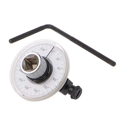 """Besttse 1/2\""""-Antriebs-Drehmoment, einstellbarer Winkelmesser, Auto Garage Schraubenschlüssel Handwerkzeug Set"""