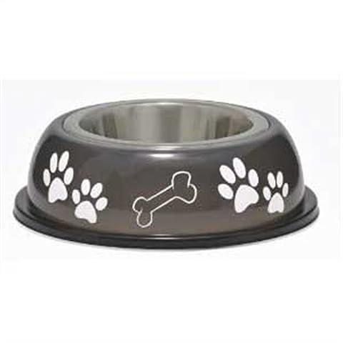 Loving Pets Dolce Dish Dog Bowl, Small, 1 Pint, Espresso by Loving Pets (English Manual)