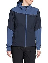 VAUDE Chiva Softshell Jacket - Chaqueta Mujer, color azul (eclipse), talla 38