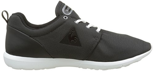 Le Coq Sportif Dynacomf Poke, Baskets Basses Mixte Adulte Noir (Black/Charcoal)
