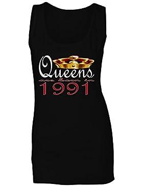 Nuevas reinas de diseño artístico nacen en 1991 camiseta sin mangas mujer b727ft