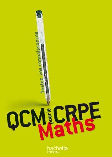 QCM pour le CRPE : Maths