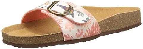 Chaussures Desigual - Desigual Bio1 Colibri Tropical, Sandales Bout Ouvert