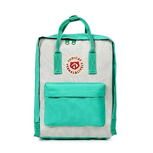 Zgcp Mochila Mochila Impermeable Al Aire Libre Fox Bag Casual Student School Bag 20L