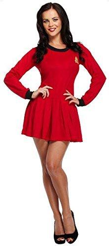 Ladies Space Traveller Fancy Dress Costume Outfit Star Trek Sci Fi Uniform U36014 by Fancy Pants Party (Womens Star Trek Kostüm)