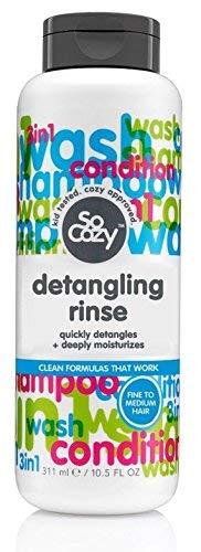 SoCozy Detangling Rinse In-Tub Super Tangle Eraser, 10.5 Fluid Ounce