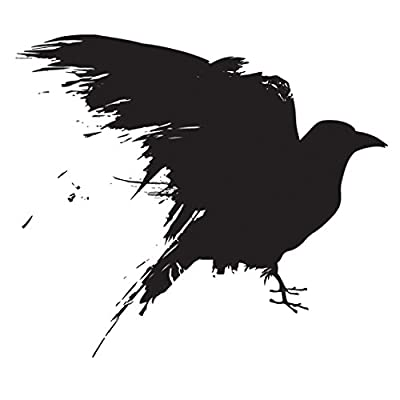 Black Raven Game of Thrones Sticker | Laptop, Car, Fridge, Wall Art Decal