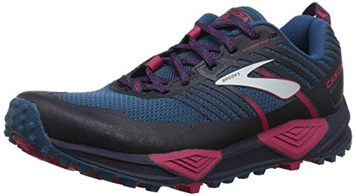 Brooks Cascadia 13, Zapatillas de Cross para Mujer, (Ink/Navy/Pink 449), 39 EU