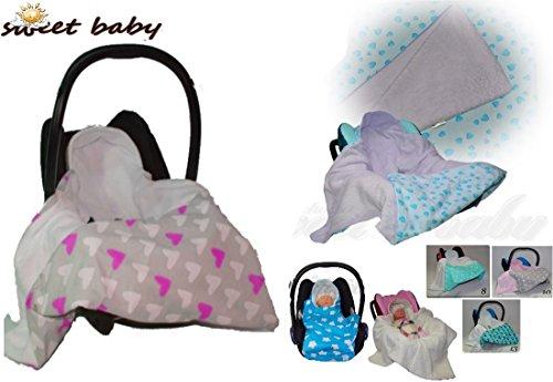 Sweet Baby ** BOBO Softy MultiUse 2en1 * * Turbulette / Couverture enveloppante été / Gigoteuse d'emmaillotage