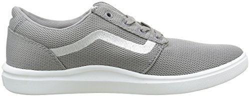 Vans Chapman Lite, Sneakers Basses Homme Gris ((Mesh) light gray/white)