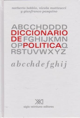 Diccionario De Política. 2 Volúmenes