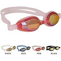 Occhialini da nuoto per bambini, antiscivolo, impermeabili,