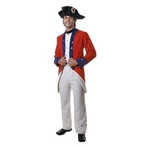 Dress up America Disfraz de Soldado Colonial Adulto