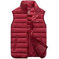 GXS Talla grande ropa de hombre. Edredón, abrigo de chaleco de algodón. Chalecos Chaleco casual de hombre , red , 6xl