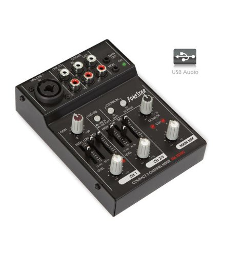 MESA DE MEZCLAS FONESTAR SM-303SC USB
